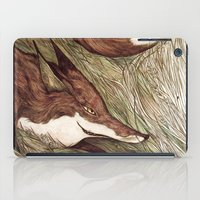 La Ruse du renard (The Sneaky Red Fox) iPad Case