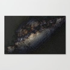 Snake Skin Milky Way Canvas Print