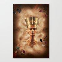 The Rising Queen Canvas Print