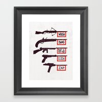 A Brief History of Non-Violence Framed Art Print
