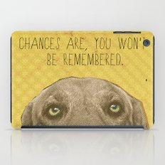 Golden Lab Print iPad Case
