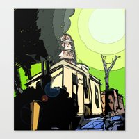 The House Of Pollution Canvas Print