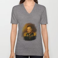 Robin Williams - replaceface Unisex V-Neck