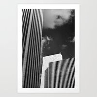 albany, city of the future... Art Print
