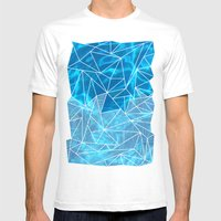 Blissful Rays Mens Fitted Tee White SMALL