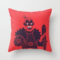 Barbarian Throw Pillow