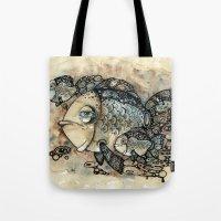 Arrogant Fish Tote Bag