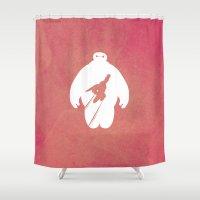 Big Hero 6 Shower Curtain