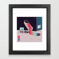 TOUGHLIFE Framed Art Print