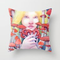 Keeper Of The Scarlet Ga… Throw Pillow