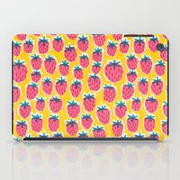 Strawberry Fun iPad Case