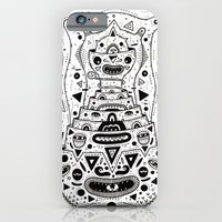 iPhone & iPod Case featuring Crab Man by Cosmic Nuggets