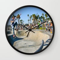 Venice Skate Park Wall Clock
