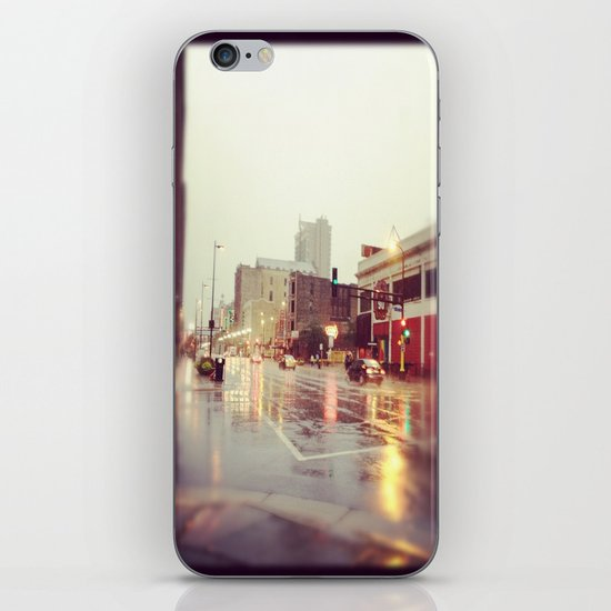 Minneapolis Rainy Day iPhone & iPod Skin