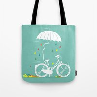 I Want To Ride My Bike ! Tote Bag