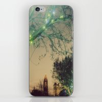 Christmastime In The City iPhone & iPod Skin