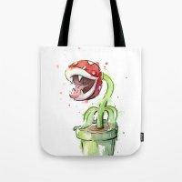Piranha Plant Tote Bag