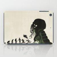 Lovecraftian Darwinism iPad Case