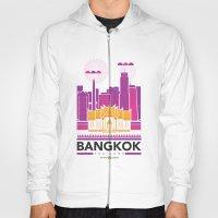 City Illustrations (Bangkok, Thailand) Hoody