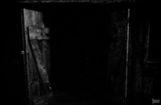 Spooky Doors Art Print