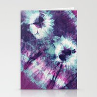Tie-Dye III Stationery Cards