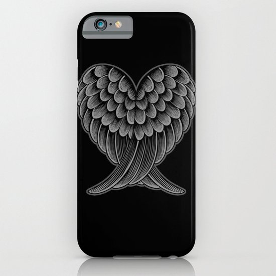 Heart Wings [Reversed Version] iPhone & iPod Case
