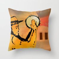 El Plenero Throw Pillow