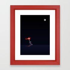 Light from the Deep Framed Art Print