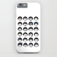 flapper doodle emoji iPhone 6 Slim Case