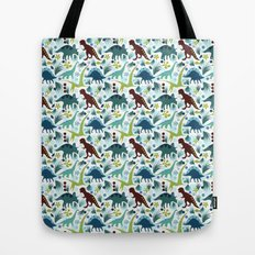 Dinosaur Days (Smaller Print) Tote Bag
