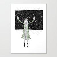 Eloise Loves Winter Canvas Print