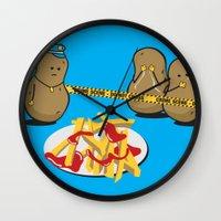 The Horror! Wall Clock