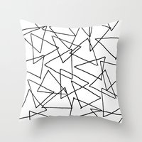 Shapes 014 Throw Pillow