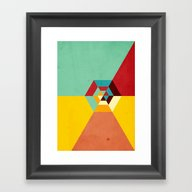 Framed Art Print featuring Summer Road by Danny Ivan