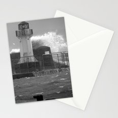 Ardrossan Lighthouse Versus the Sea Stationery Cards