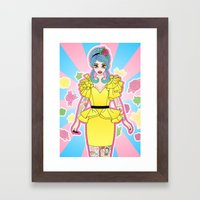 I Put A Spell On You Framed Art Print
