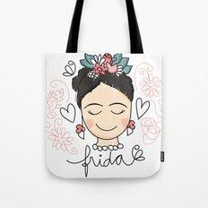 Frida Carinhas Tote Bag