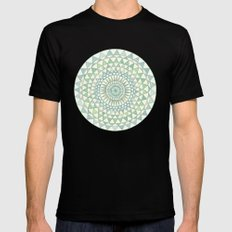 Doily Mens Fitted Tee Black SMALL