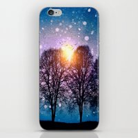 Sounds of winter - HOLIDAZE iPhone & iPod Skin