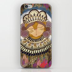 Regal Cat Lady of the Fall Harvest Moon iPhone & iPod Skin