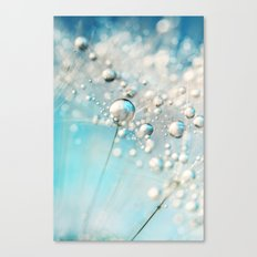Sparkle in Blue Canvas Print