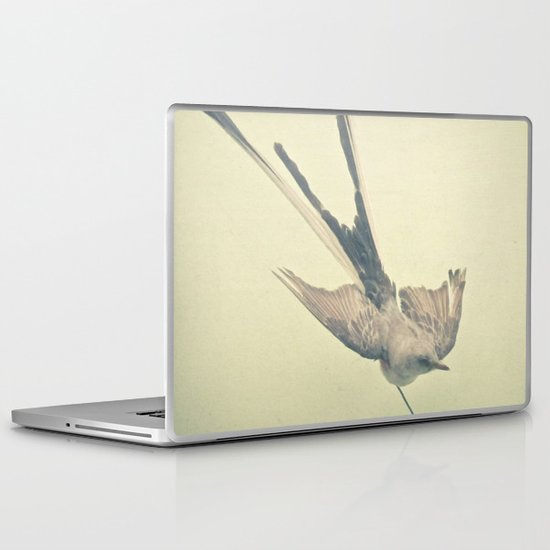 Bird Study #1 Laptop & iPad Skin