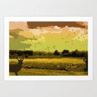 Wildlife Art Print