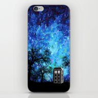 Lonely Tardis Doctor Who… iPhone & iPod Skin