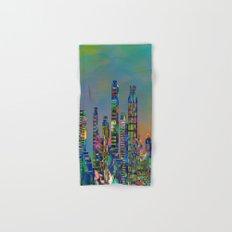 Graffiti City Hand & Bath Towel