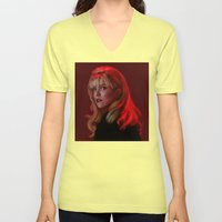 Laura Palmer from Twin Peaks Unisex V-Neck