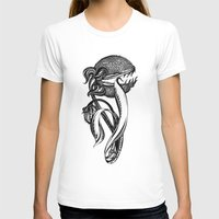 Carnivorous plant Womens Fitted Tee White SMALL