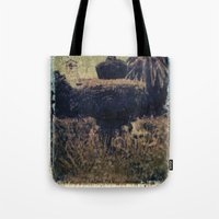 Mission Fountain Tote Bag