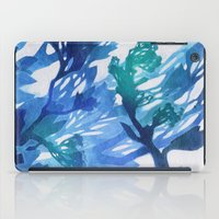 Morning Blossoms 2 - Blu… iPad Case