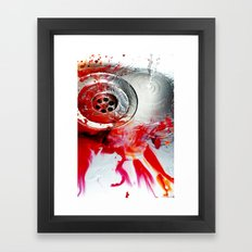 Water Colours Framed Art Print